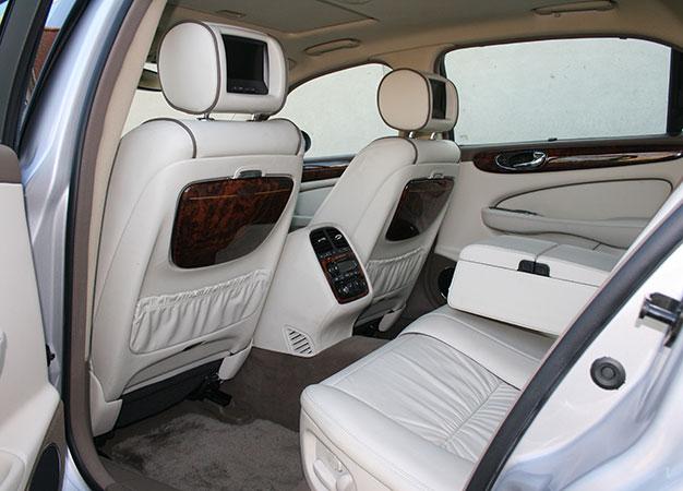 interior of Daimler Super Eight