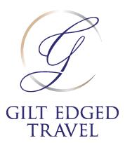 Gilt Edged Travel Logo